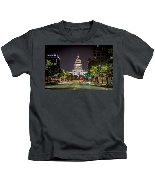 The Texas Capitol Building Kids T-Shirt