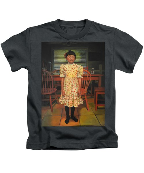 The Valentine Dress Kids T-Shirt by Thu Nguyen