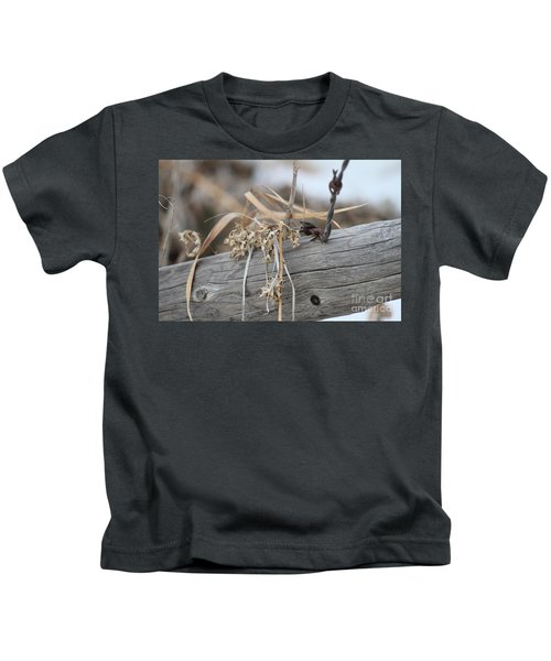 Thistles And Barbed Wire Kids T-Shirt