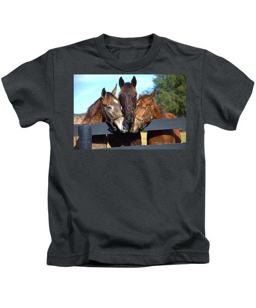 Three Friends Kids T-Shirt