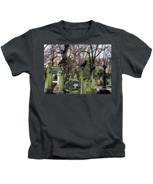 Three Ravens Kids T-Shirt