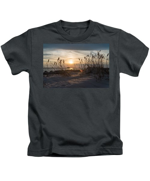 Through The Reeds Kids T-Shirt