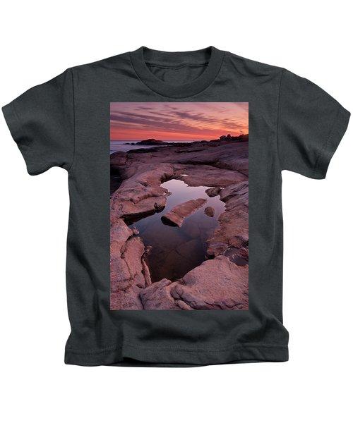 Tide Pool Geometry Kids T-Shirt