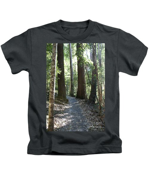 To Walk Among Giants Kids T-Shirt