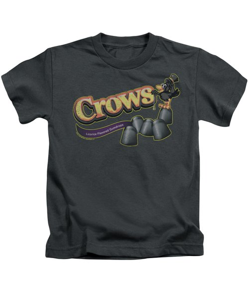 Tootise Roll - Crows Kids T-Shirt