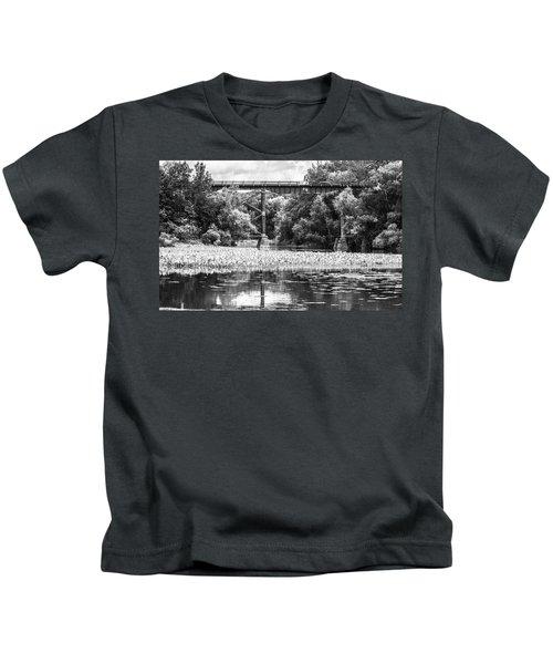 Train Bridge Kids T-Shirt