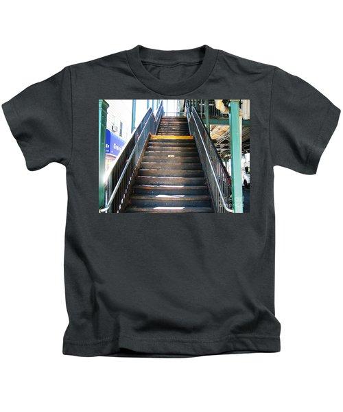 Train Staircase Kids T-Shirt