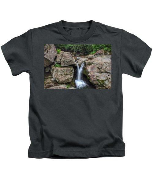 Trash Can Falls Kids T-Shirt