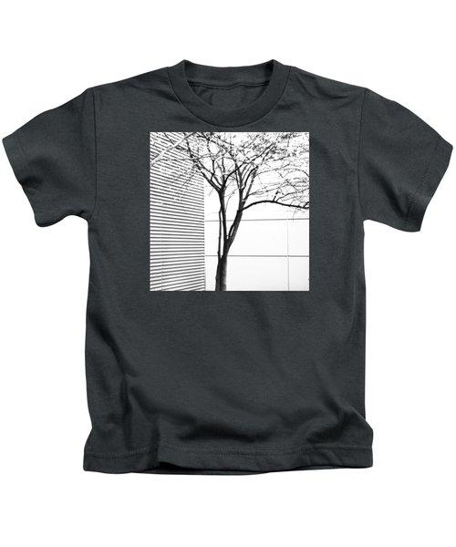 Tree Lines Kids T-Shirt