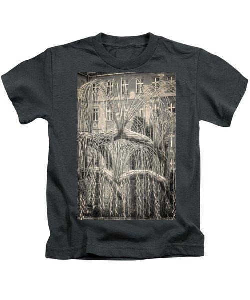 Tree Of Life Dohany Street Synagogue Kids T-Shirt