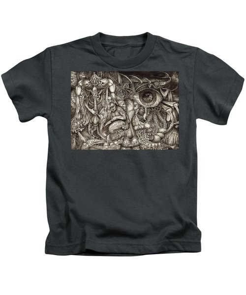 Tripping Through Bogomils Mind Kids T-Shirt