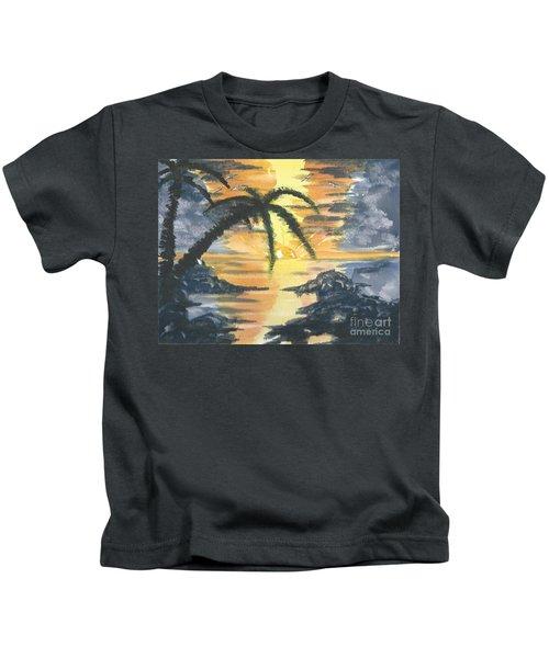 Tropical Sun Kids T-Shirt