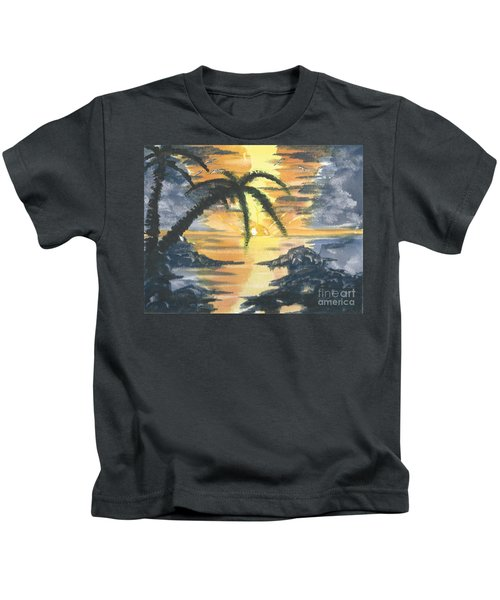 Tropical Sun Kids T-Shirt