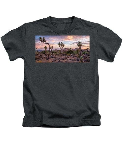 Twilight Comes To Joshua Tree Kids T-Shirt