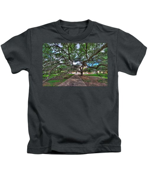 Under The Century Tree Kids T-Shirt