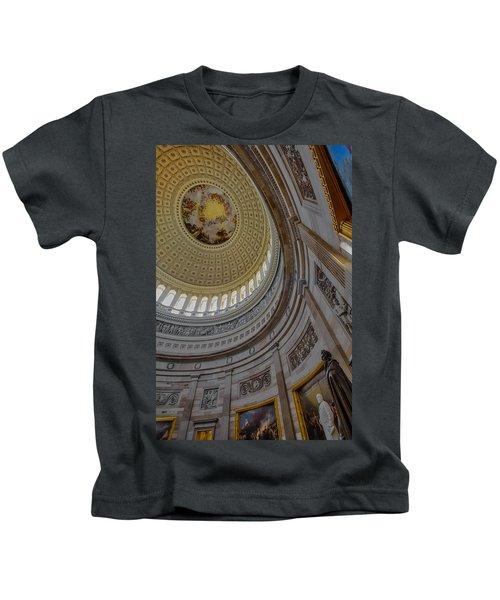 Unites States Capitol Rotunda Kids T-Shirt