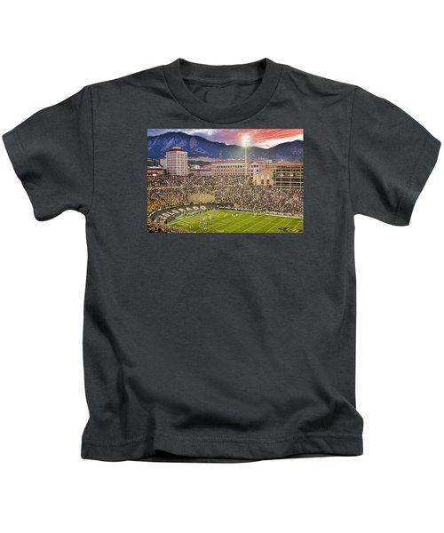 University Of Colorado Boulder Go Buffs Kids T-Shirt