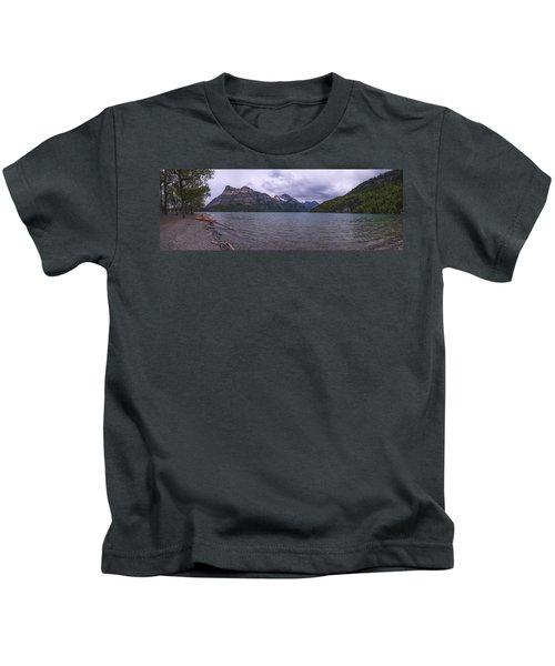 Upper Waterton Lake Kids T-Shirt