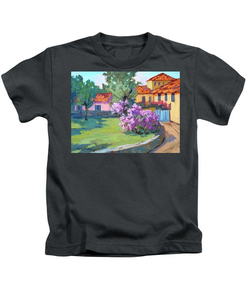 Van Gogh Hospital St. Remy Kids T-Shirt