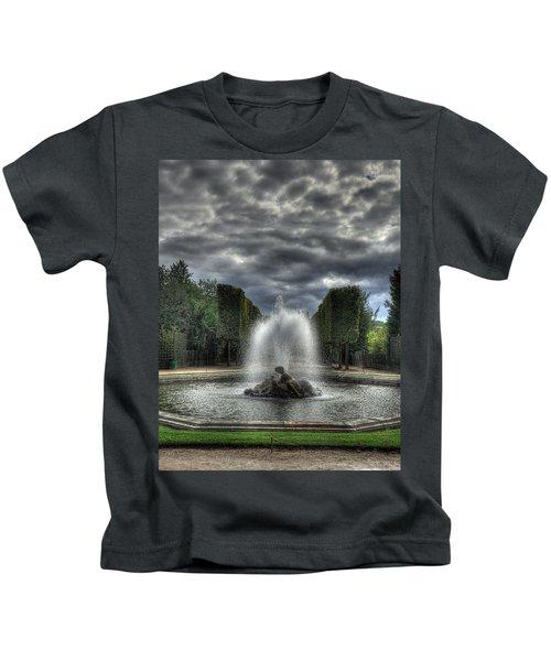 Versailles Fountain Kids T-Shirt