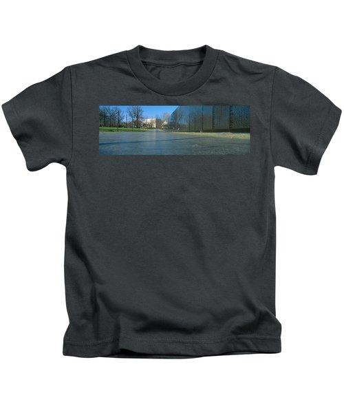 Vietnam Veterans Memorial, Washington Dc Kids T-Shirt by Panoramic Images