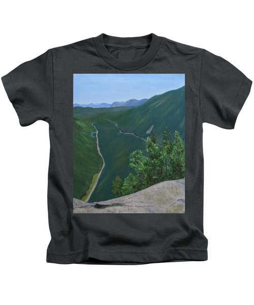 View From Mount Willard Kids T-Shirt