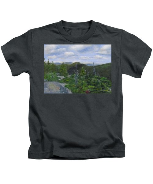 View From Noon Peak Kids T-Shirt