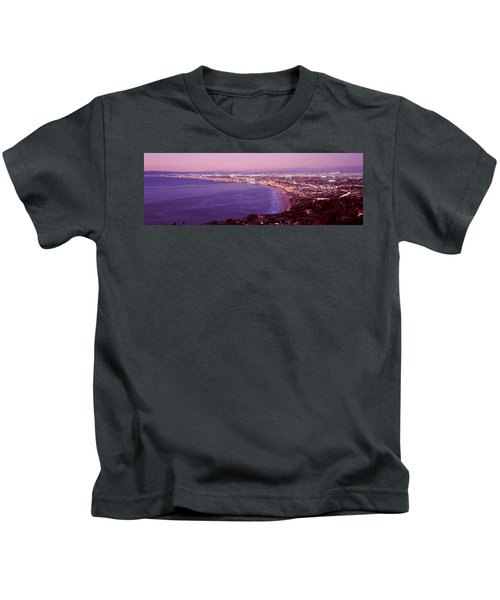 View Of Los Angeles Downtown Kids T-Shirt