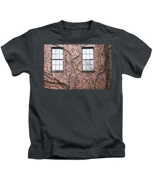 Vines And Brick Kids T-Shirt