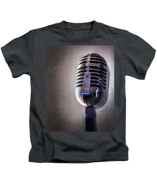 Vintage Microphone 2 Kids T-Shirt