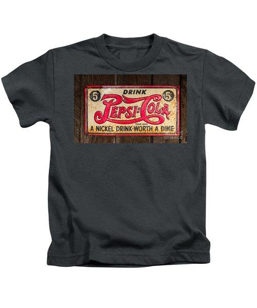 Vintage Pepsi Cola Ad Kids T-Shirt