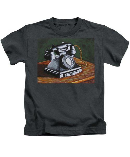 Vintage Phone 2 Kids T-Shirt