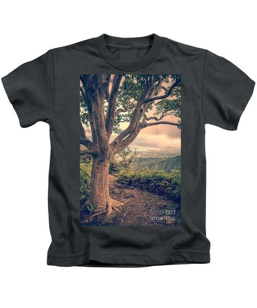 Waihee Ridge Trail Maui Hawaii Kids T-Shirt