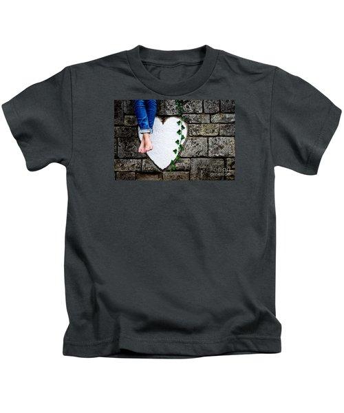 Waiting For Love Kids T-Shirt