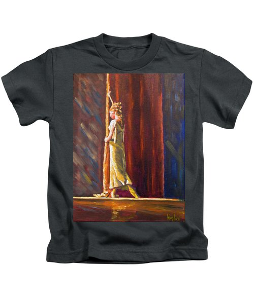 Waiting To Perform Kids T-Shirt