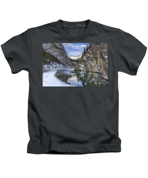 Walking Through Wonderland Kids T-Shirt