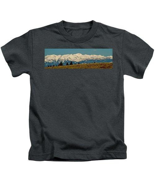 Wallowa Mountains Oregon Kids T-Shirt