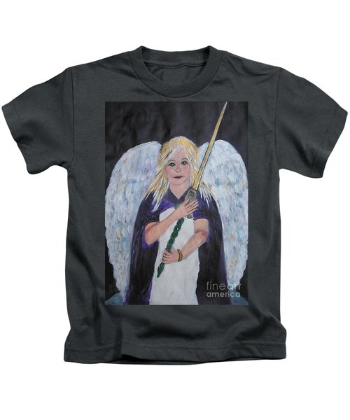 Warrior Angel Kids T-Shirt