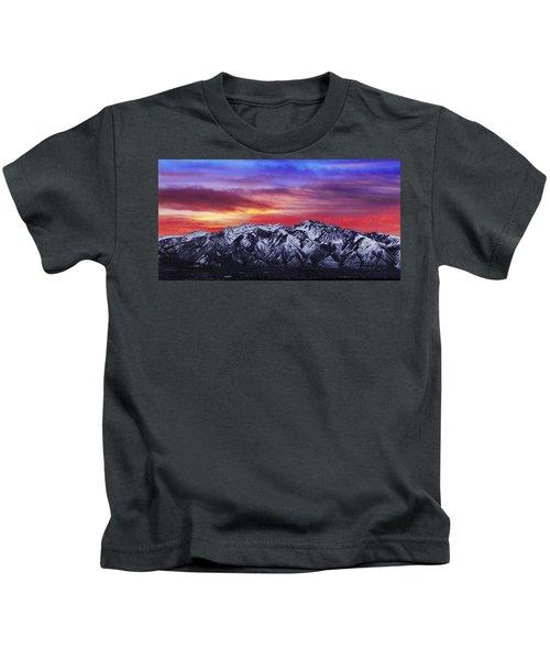 Wasatch Sunrise 2x1 Kids T-Shirt