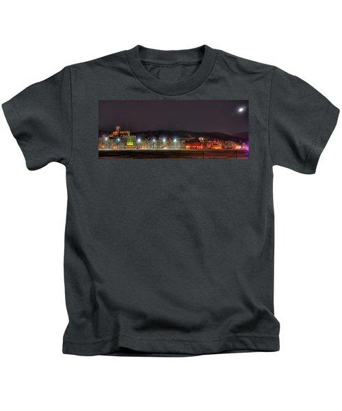 Washington Hall At Night Kids T-Shirt