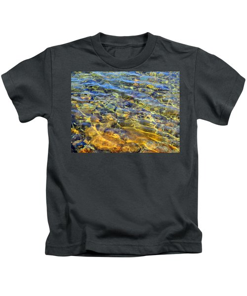 Water Abstract Kids T-Shirt