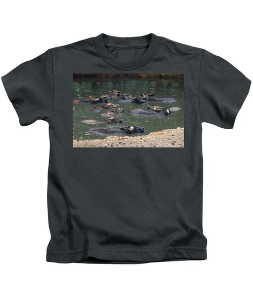 Water Buffalo Kids T-Shirt