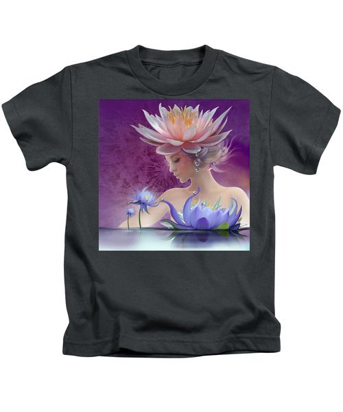 Water Of Life - In Violet Kids T-Shirt