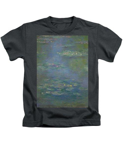 Waterlilies, Detail, 1903 Kids T-Shirt