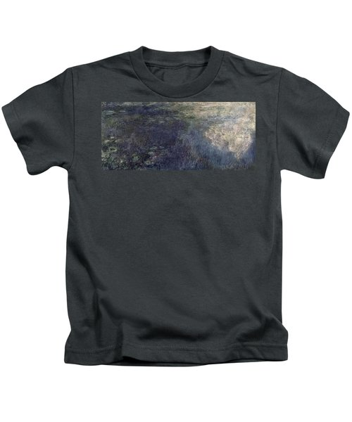 Waterlilies, The Clouds Kids T-Shirt