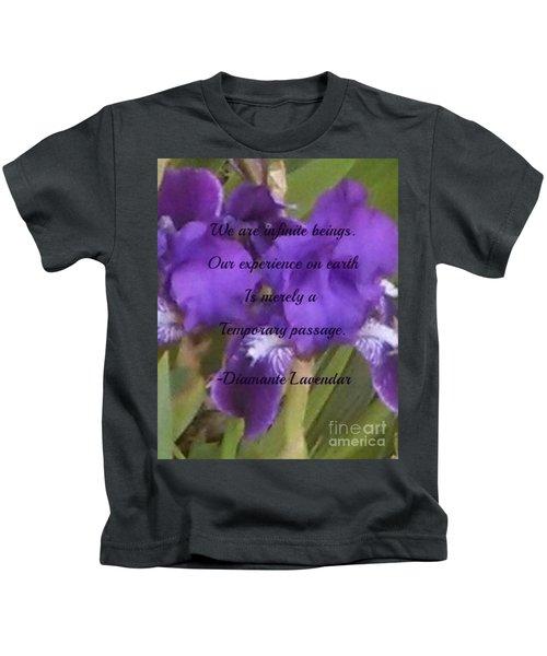 We Are Infinite Beings Kids T-Shirt