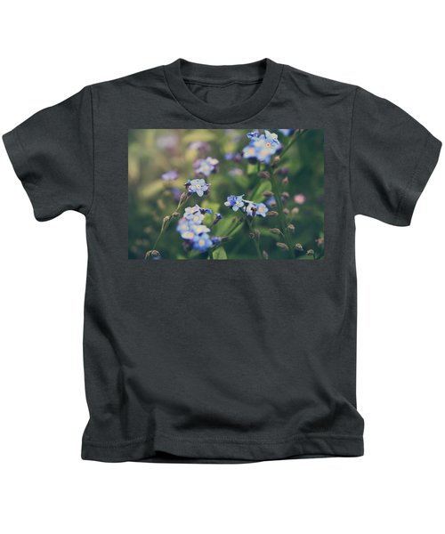 We Lay With The Flowers Kids T-Shirt