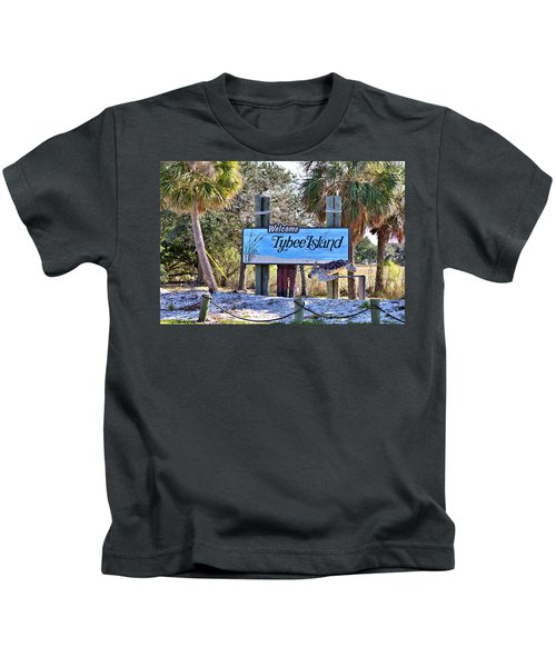 Welcome To Tybee Kids T-Shirt