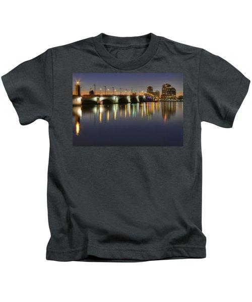 West Palm Beach At Night Kids T-Shirt