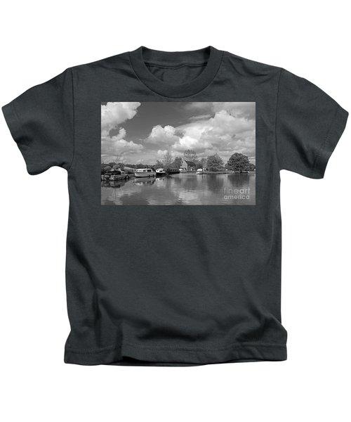 Wey Canal Ripley Surrey Kids T-Shirt